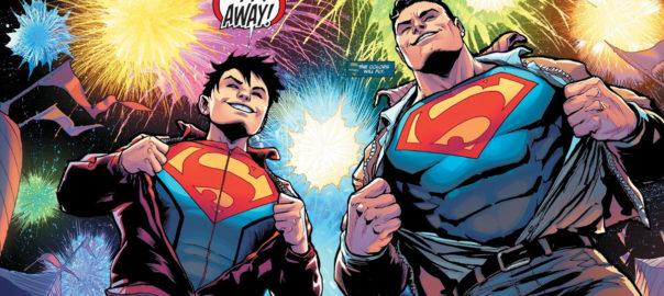 Superman y Superboy