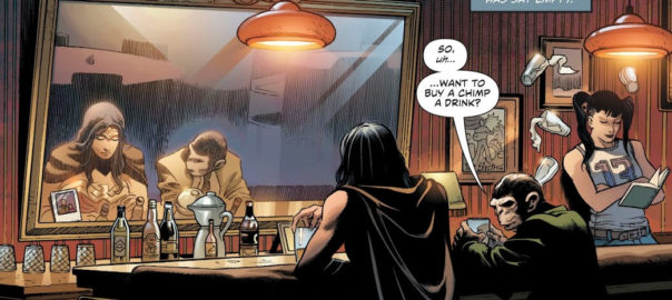 Wonder Woman y Detective Chimp