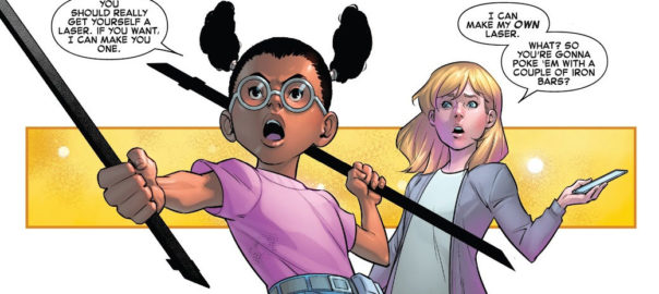 Lunella y Valeria Richards