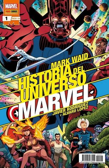Historia del Universo Marvel #1