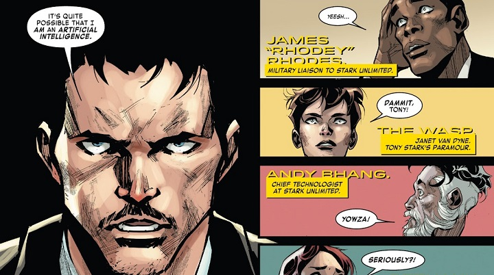 Tony Stark: Iron Man #10
