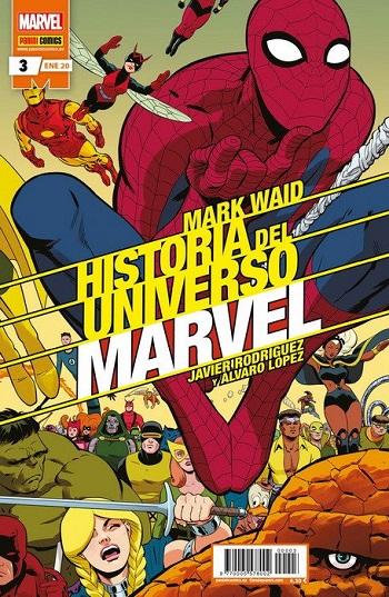 Historia del Universo Marvel #3