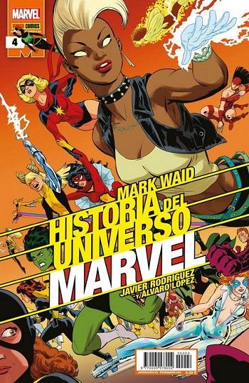 Historia del Universo Marvel #4