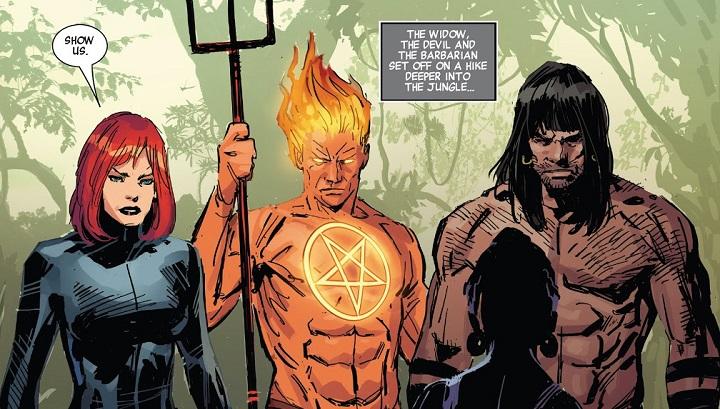 Salvajes Vengadores #7