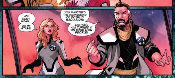 Sue Storm y Reed Richards