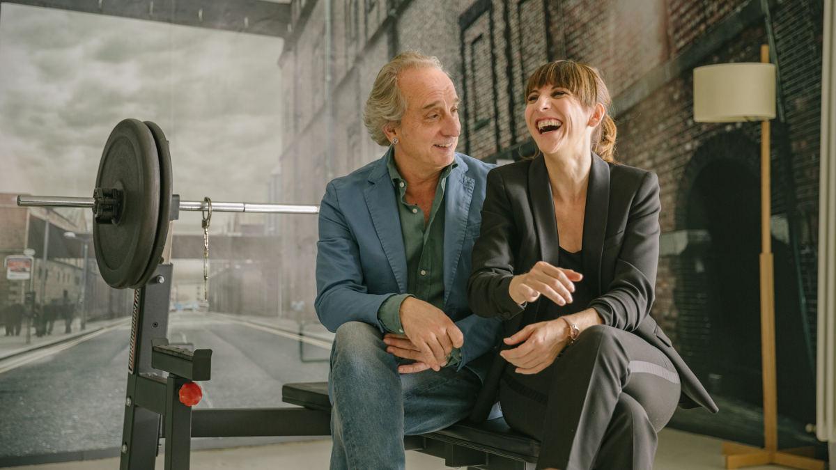 Malena Alterio y Gonzalo de Castro