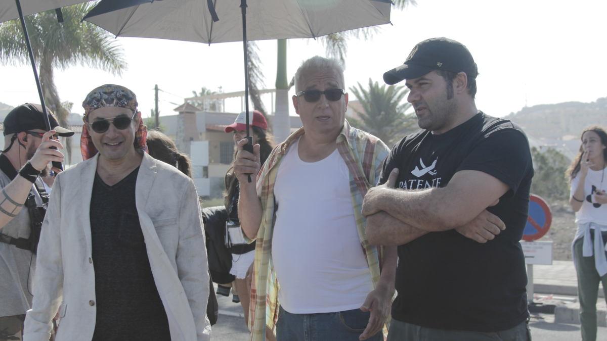 Jordi Sánchez, Leo Harlem y Alfonso Sánchez