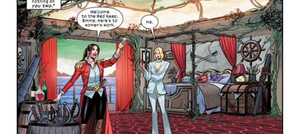 Kitty Pryde y Emma Frost