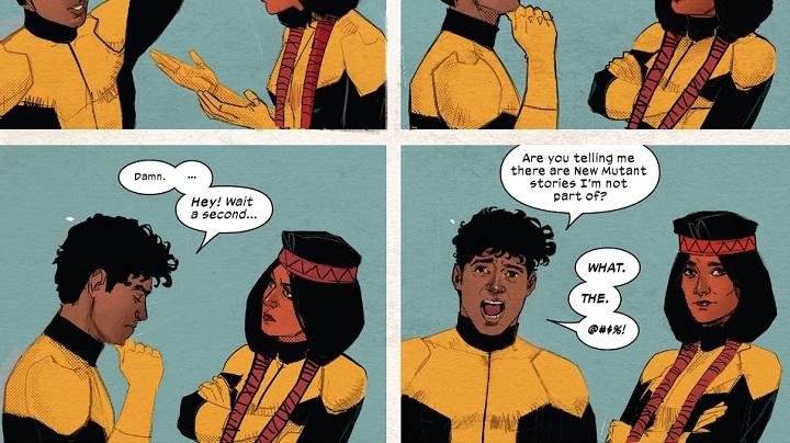 Nuevos Mutantes #4: Amanecer de X