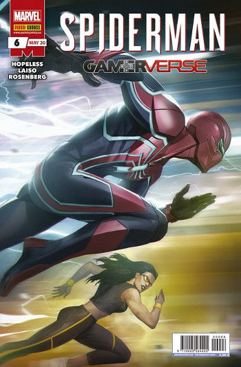 Spiderman. Gamerverse