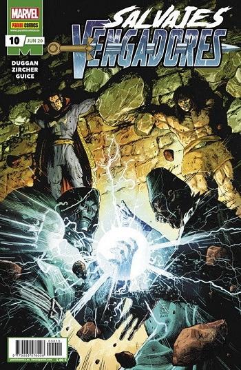 Salvajes Vengadores #10