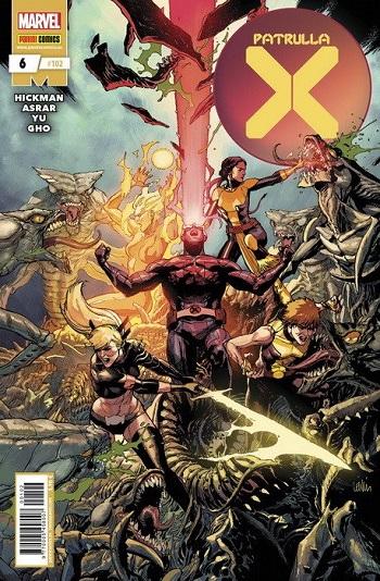 Patrulla X #6: Amanecer de X
