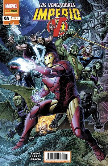 Los Vengadores: Imperio #0A