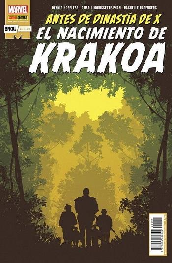 Antes de Dinastía de X: El Nacimiento de Krakoa