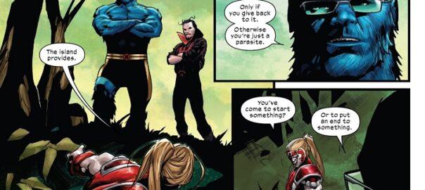 X-Force #9: Amanecer de X - Camino a X de Espadas