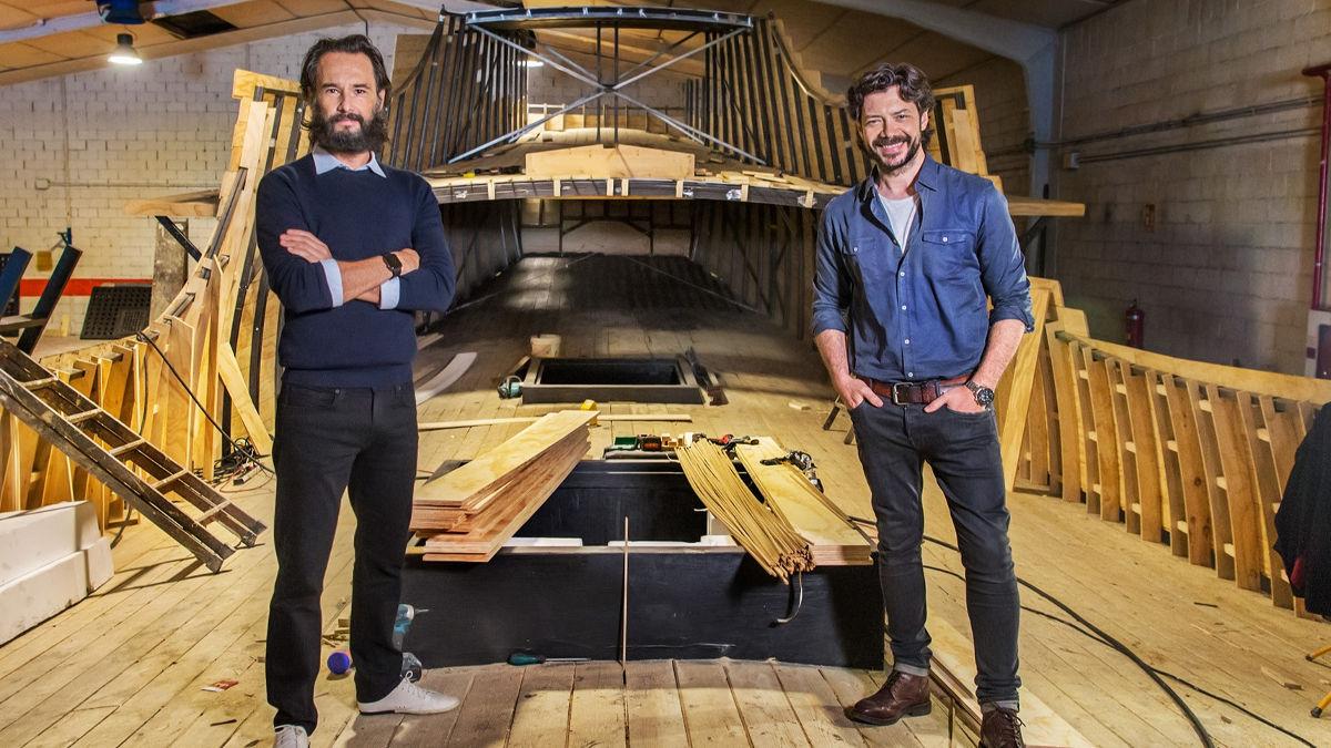 Rodrigo Santoro y Álvaro Morte