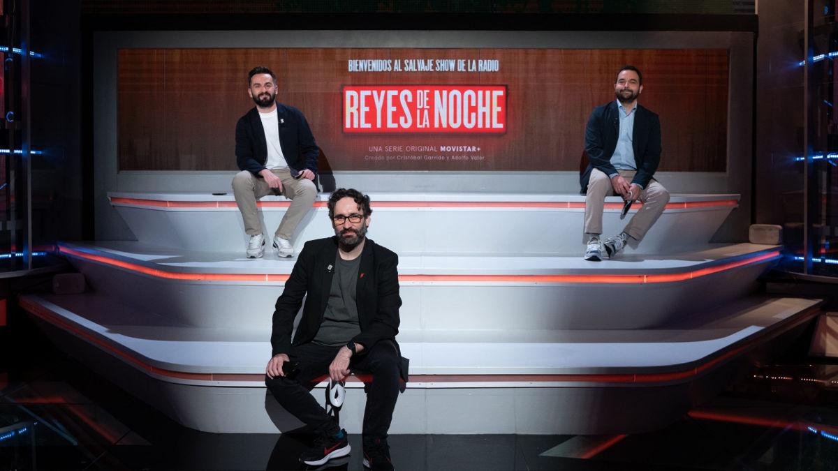 Carlos Therón, Cristóbal Garrido y Adolfo Valor