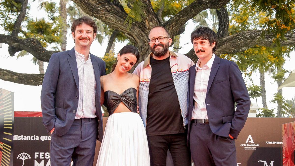Gorka Otxoa, Macarena García, Fernando González Molina e Iñaki Ardanaz