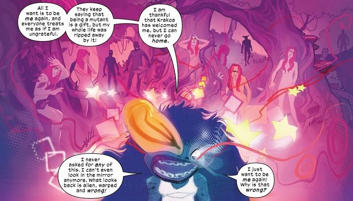Nuevos Mutantes #15: Reinado de X