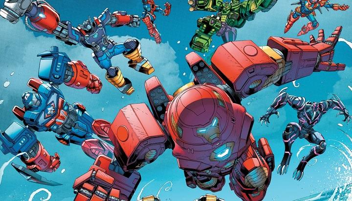 Los Vengadores: Equipo Mecha #1